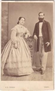 Il nobile Panfilo, dei baroni Tabassi, con la moglie Maria Boccardi – n. 1803